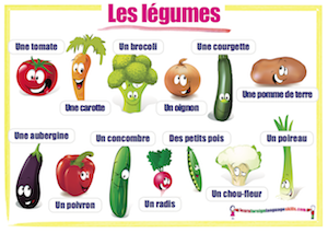 French wall charts