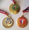 Gold, Silver, Bronze medal