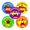 Fantástico stars and flags sticker