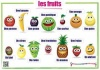 French Fruits / Les fruits