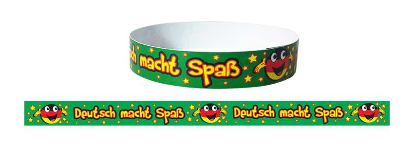 German Wristbands