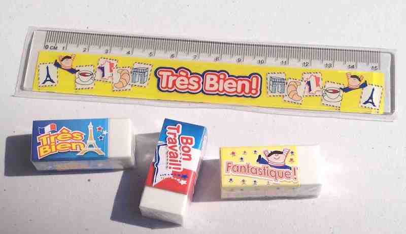 Rulers & Erasers