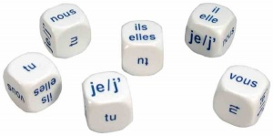 French Pronoun Dice