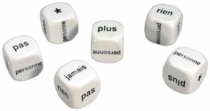 French negative dice