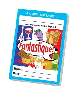 Fantastique reward notepad