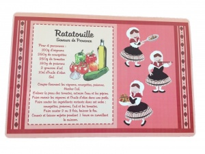 Ratatouille set de table