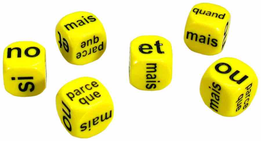 French Conjunctions Dice