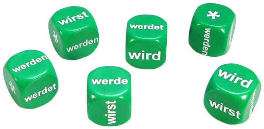 Set of 6 German Werden Dice