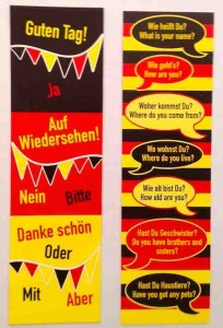 German phrases bookmark