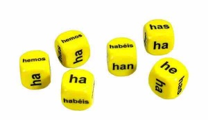 Set of 6 Spanish Haber Dice
