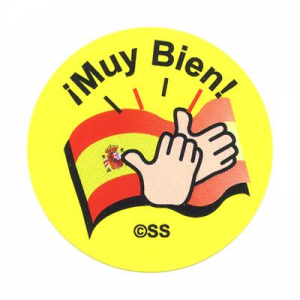 Muy Bien Clapping Hands Sticker