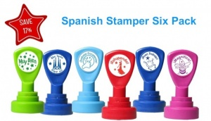 Spanish  Stamper 6 pack No.2