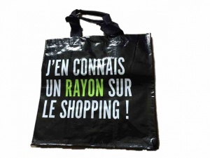 J'en connais un rayon  shopping bag