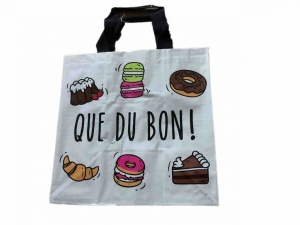 Que du bon!  shopping bag