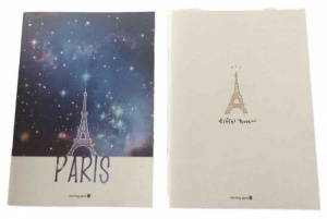 Paris Notepad pack of 2