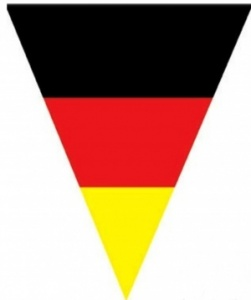 German bunting (triangular)
