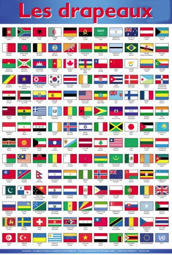 Learn Foreign Language Skills Les Drapeaux Du Monde