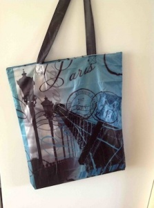 Paris Shopping Bag