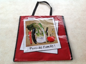 French photo de famille bag