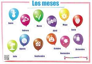 Spanish Months Los meses