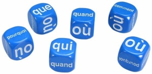 French  questions dice