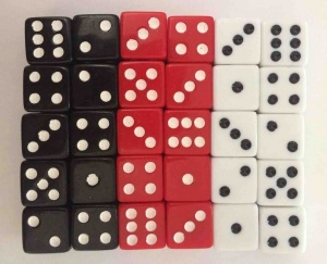Set of 30 dice