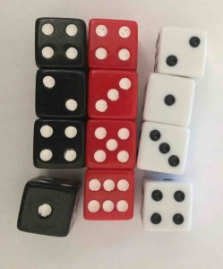 Set of 12 dice