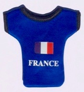 France phone/key holder
