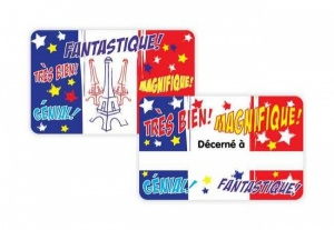 Fantastique reward card