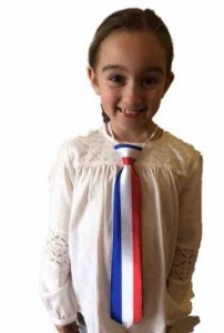 French themed tie