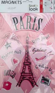 Paris Sticker Magnet