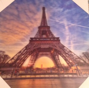 3D Picture Eiffel Tower