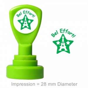 Bel Effort Green  Star Stamper