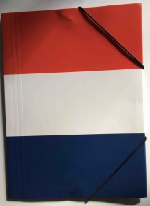 Chemise/Folder French tricolour