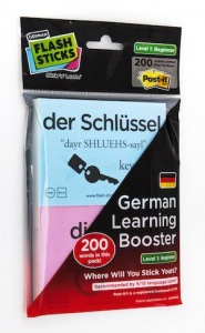 Flash Sticks German Beginners level