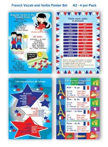 French Wallchart Bundle no1.