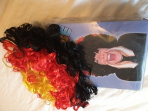 German colour wig