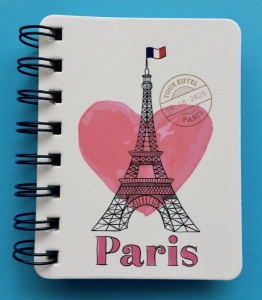Paris notepad wire bound