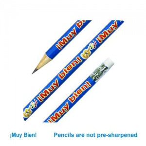 Muy bien Spanish reward pencil (Guitar)