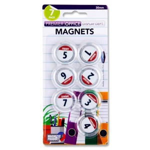 7 Weekday magnets