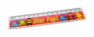 Star pupil ruler