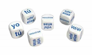 Set of 6 Spanish Pronoun Dice