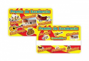 Premio de Excelencia reward card