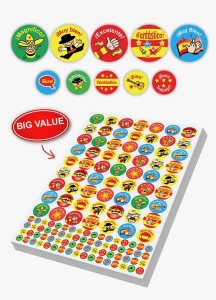 Spanish Bumper sticker sheet