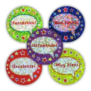 Sparkling Speech Bubbles Sticker