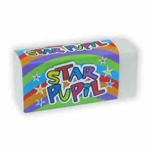 Star pupil eraser