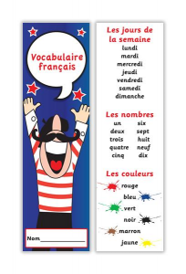 Bookmark  French Vocabulary