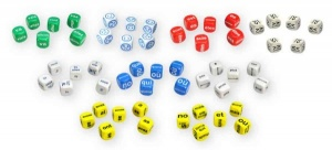 Class pack of French dice