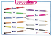 French Colours - Les couleurs
