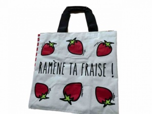 Ramène ta fraise! shopping bag